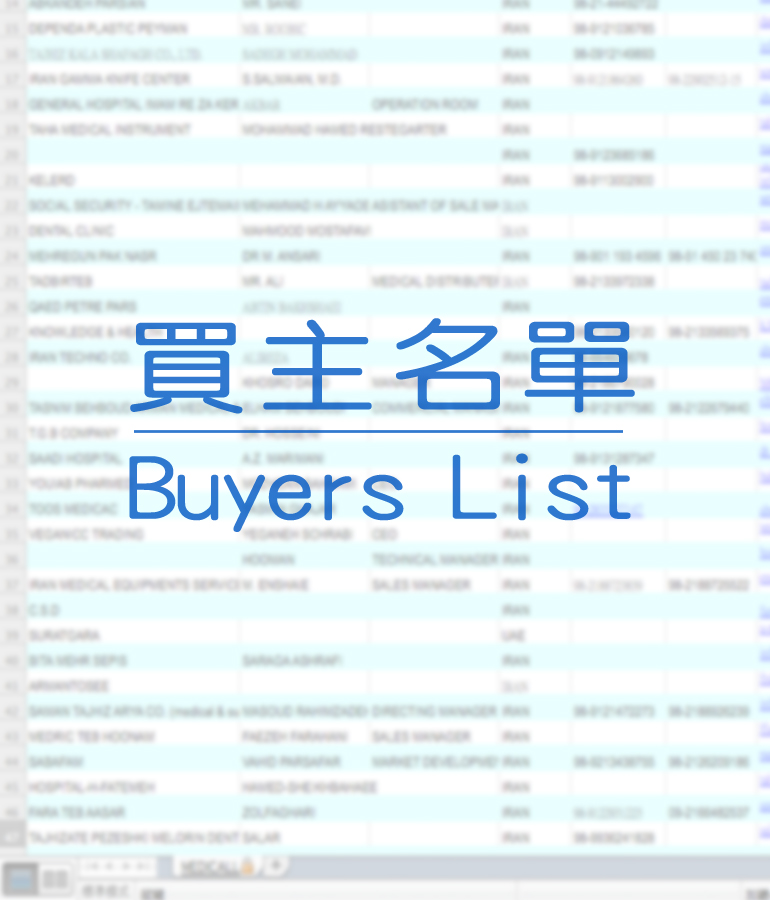 Buyers List