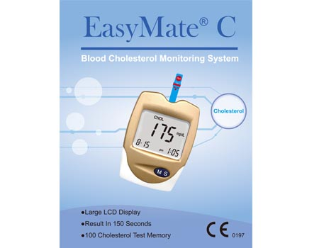 EasyMate Blood Cholesterol Monitoring System