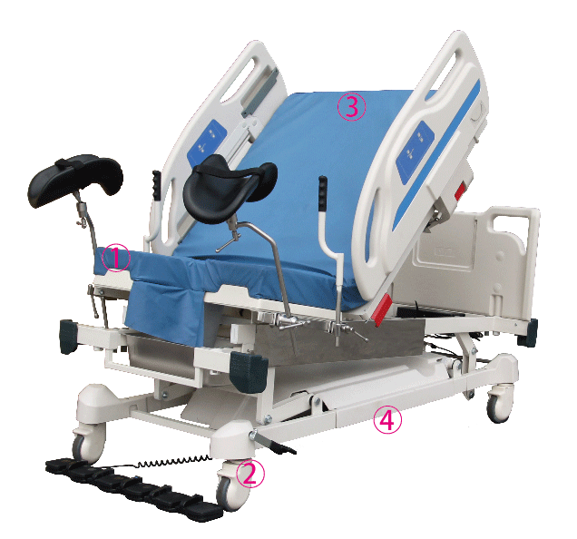Tradewinds Generators: MDB-900 Obstetric & Delivery Bed