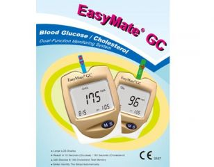 Blood Glucose, Cholesterol Dual-Function Monitoring System
