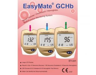 Blood Glucose, Cholesterol, Hemoglobin Multi-Function Monitoring System