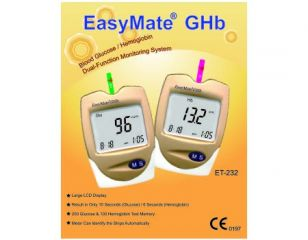 Blood Glucose, Hemoglobin Dual-Function Monitoring System