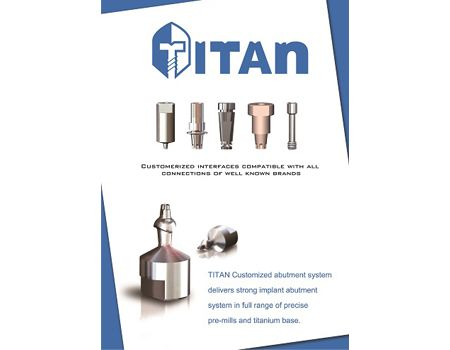 TITAN® Customized abutment system